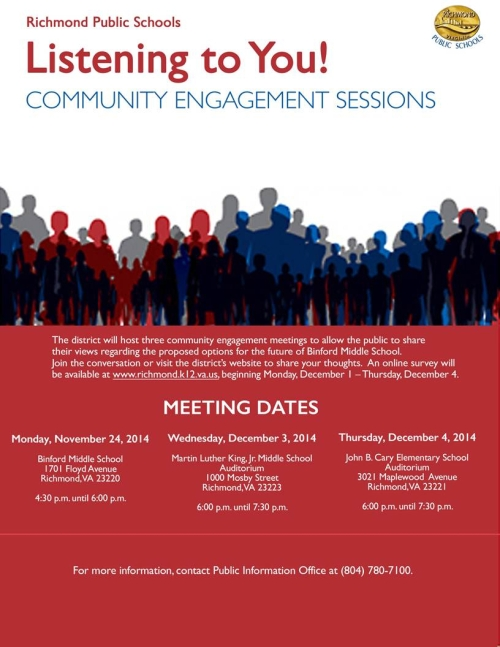Community Engagement Sessions