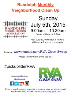 Randolph July 5th Clean Up
