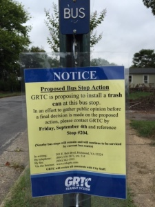 GRTC Sign